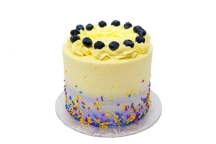 Lemon Blueberry Cake - Bunner's Bakeshop