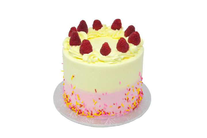 Lemon Raspberry Cake - Bunner's Bakeshop