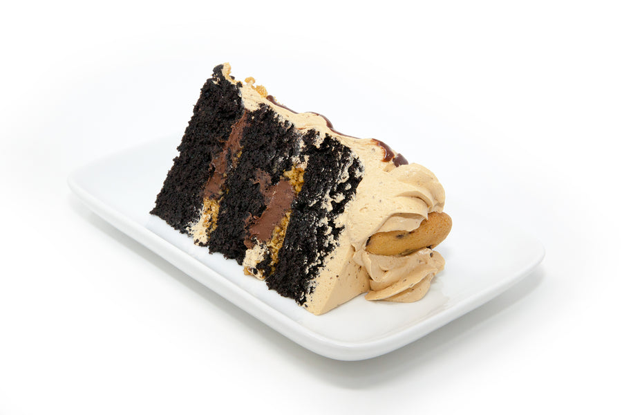 Mocha Chocolate Crunch Cake - Bunner's Bakeshop