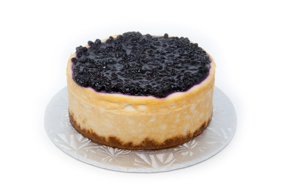 Blueberry Cheesecake - Bunner's Bakeshop