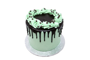 Mint Chocolate Chip Cake - Bunner's Bakeshop