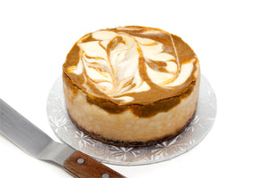 "6"" Pumpkin Pie Cheesecake - Bunner's Bakeshop"