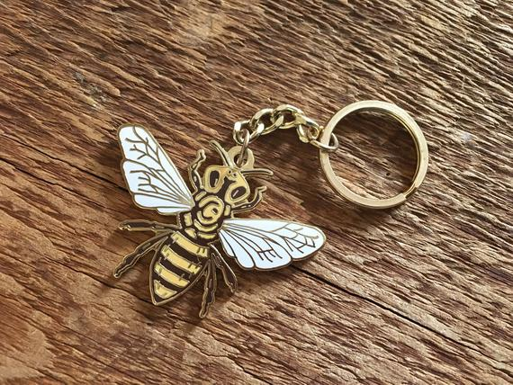 Honeybee Key Chain