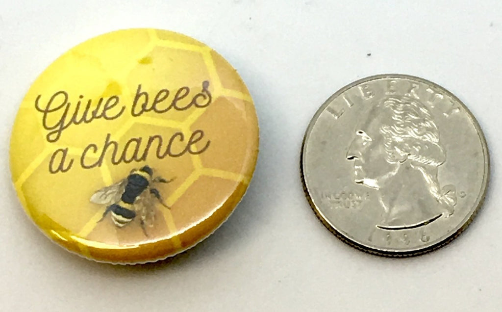 Save the Bees Mini Pin 1""