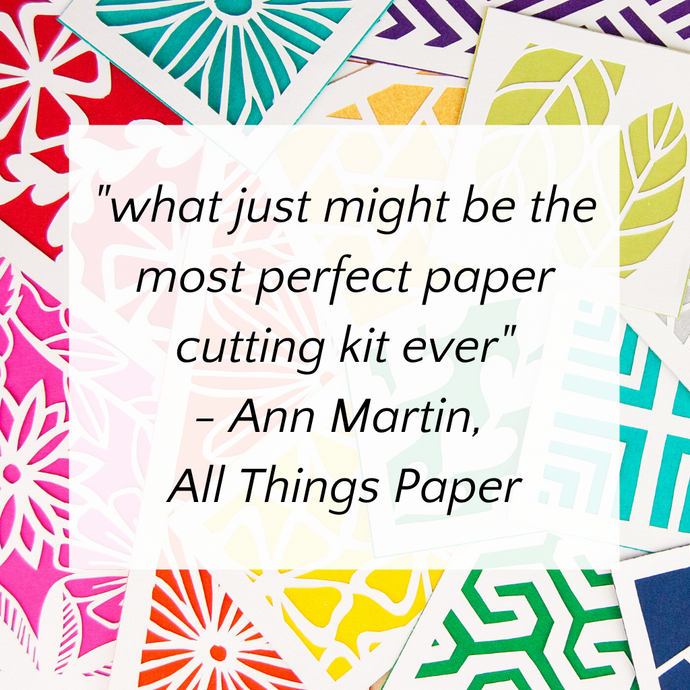 """What Just Might Be The Most Perfect Paper Cutting Kit Ever"""