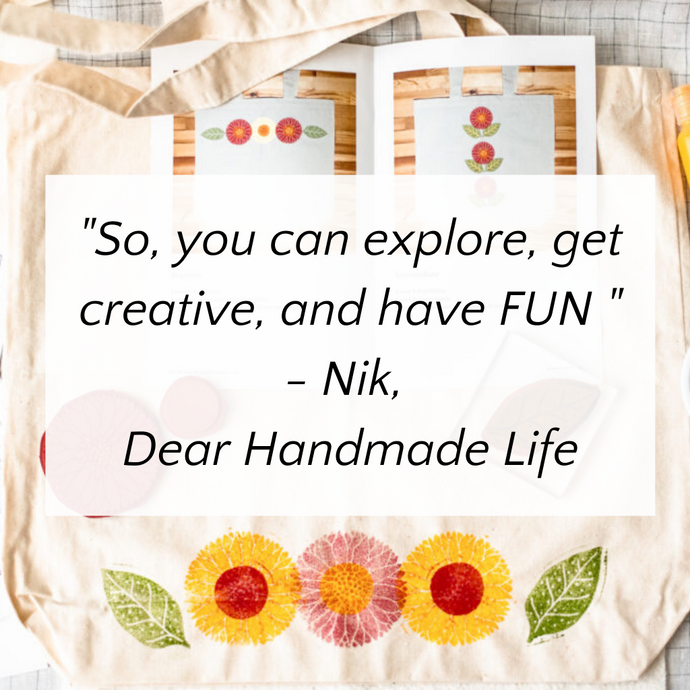 """Explore, get creative and have FUN!"""