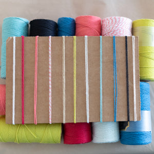 Macrame cord comes in 11 beautiful colors