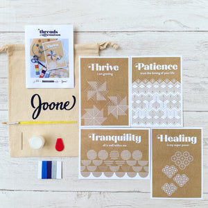 Threads of Affirmation Mini Kit in Winter
