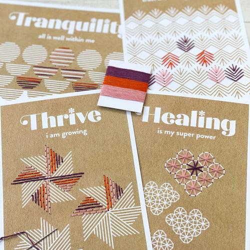 Threads of Affirmation Mini Kit in Autumn
