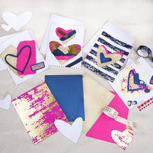 Load image into Gallery viewer, Collage Valentine's Cards - Online Workshop (2/6) + Mini Kit