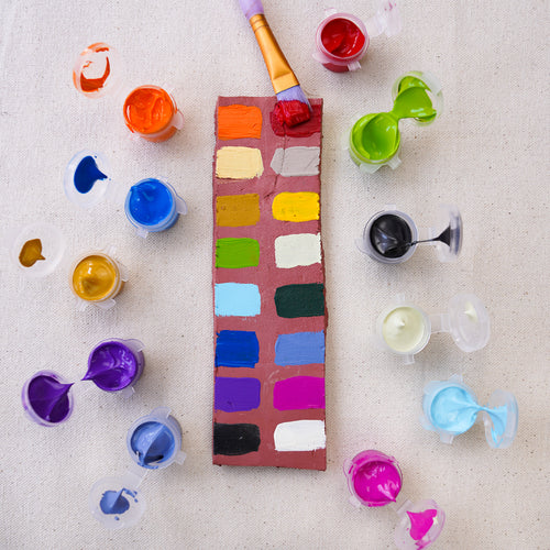 Joone acrylic paints. Available in 16 colors