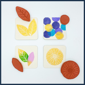 Flower and Leaf Stamps by Jen Hewett for Joone