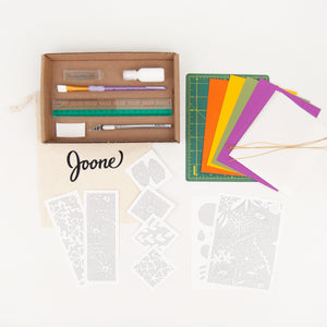 Botanical Paper Cutting Kit in Maple