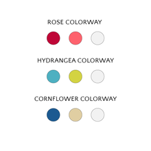 Load image into Gallery viewer, Macramé Jewelry Kit color palettes