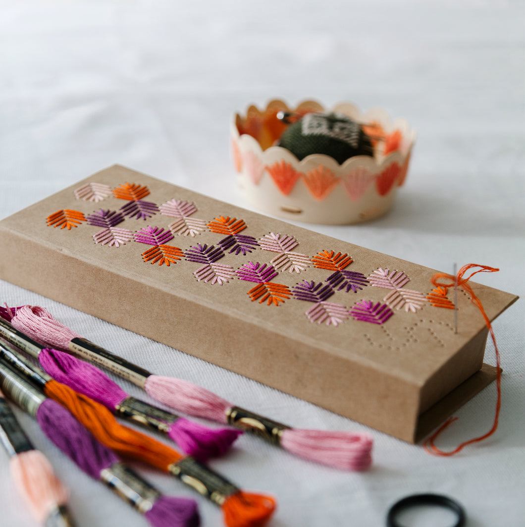 Pencil Case Embroidery Kit