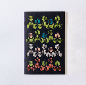 Deluxe Black Notebooks Embroidery Kit