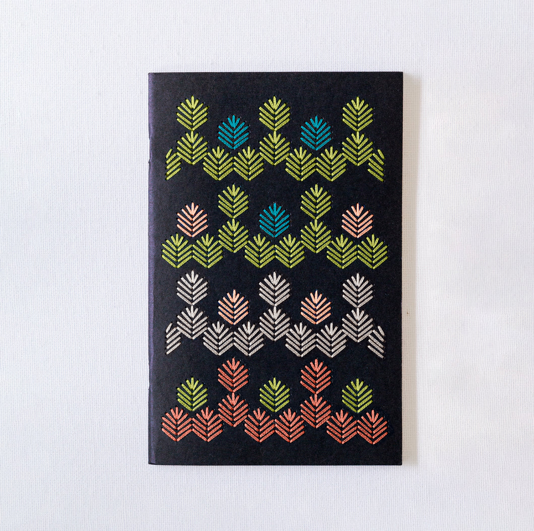 Black Notebook Embroidery Kit