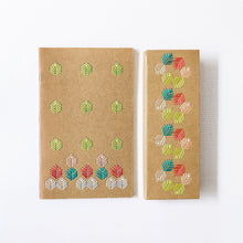 Load image into Gallery viewer, Notebook + Pencil Case Embroidery Kit