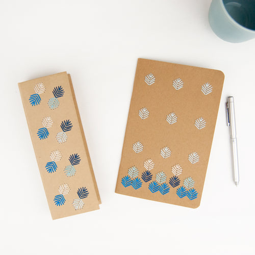 Notebook + Pencil Case Embroidery Kit
