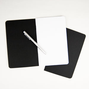 Black Notebooks (Set of 2)