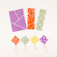 Load image into Gallery viewer, Geometric Paper Cutting Kit in Maple