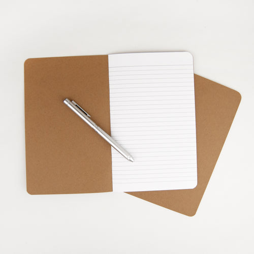 Kraft Notebooks (Set of 2)