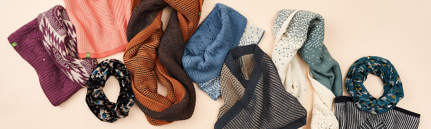 Versatile Scarves That Let You Reimagine Your Knitwear Daily.