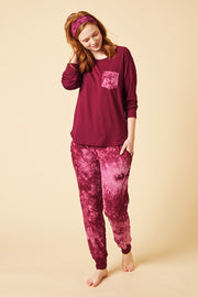 Relaxed Long Sleeve + Harem Pant Set