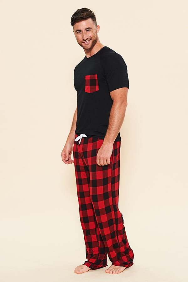 Pajama Set: T-Shirt + Pajama Pant - Holiday