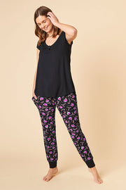 Short Sleeve Top + Harem Pant Set