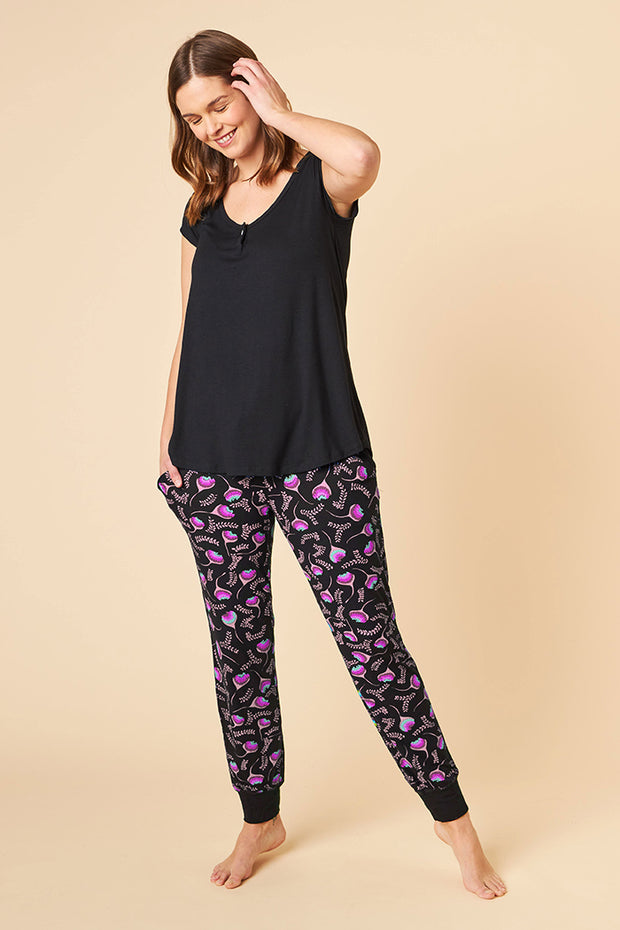 Short Sleeve Top + Harem Pant