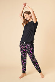 T-Shirt Top + Harem Pant Set