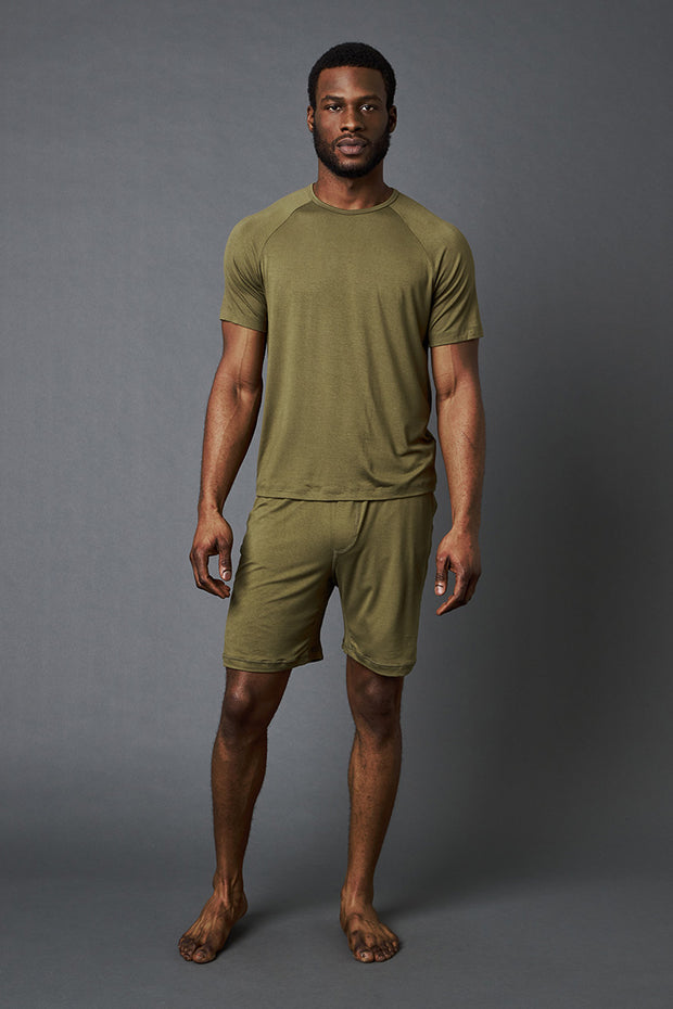 Mens Bamboo Lounge Short