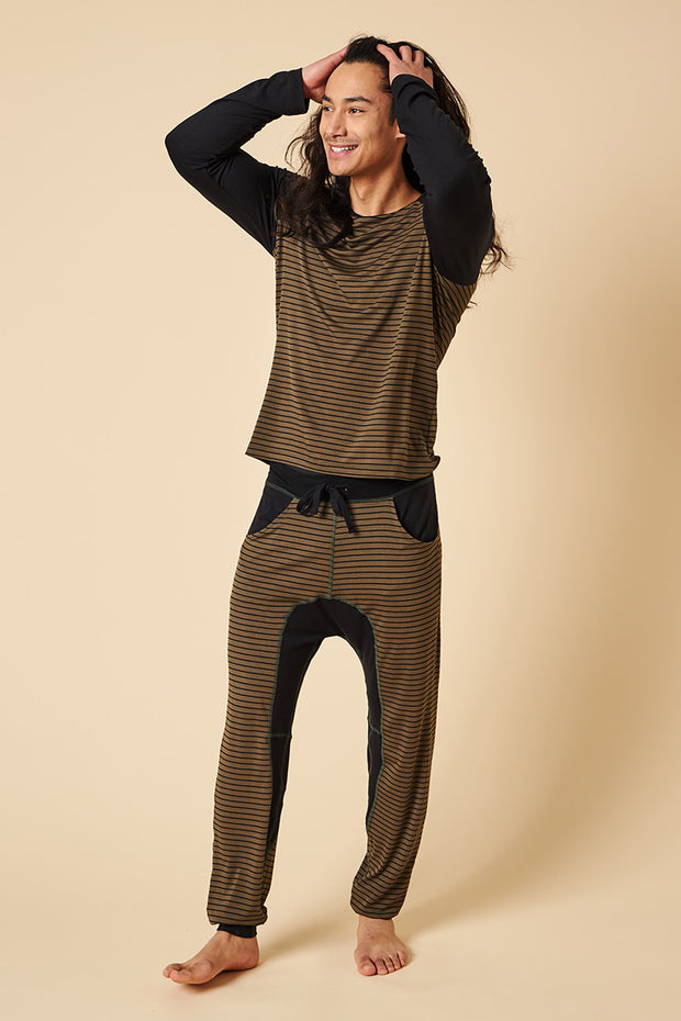 Lounge Set: Long Sleeve Shirt + Lounge Pant