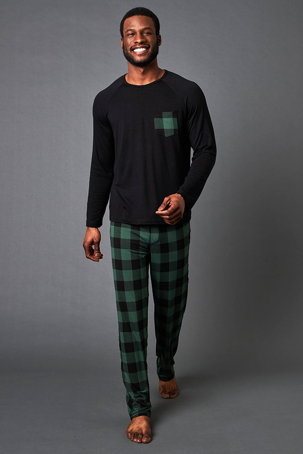 Pajama Set: Long Sleeve Shirt + Pajama Pant - Limited Edition