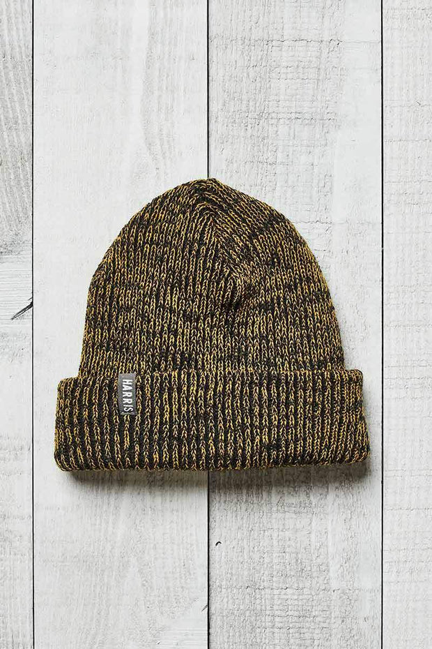 Harris Boyfriend Toque - Black & Gold - Made in Canada - This is J
