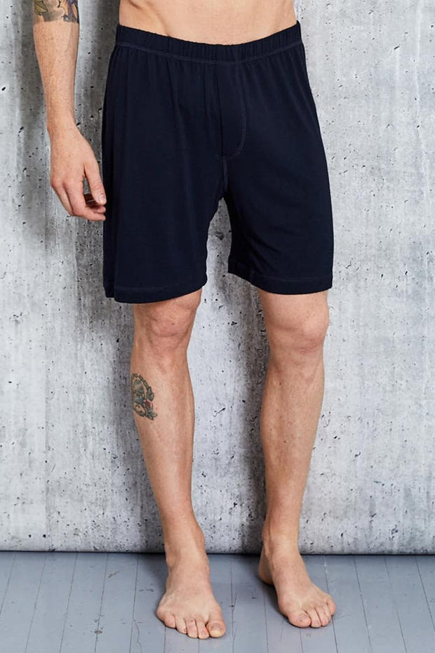Bamboo Lounge Short Black - This is J