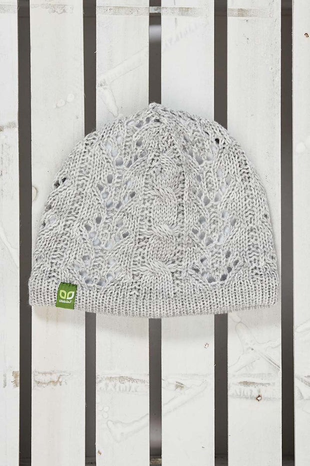 Kids Classic Reversible Toque - Heather Light Grey - Made in Canada - This is J