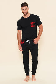 Lounge Set: Pocket T-Shirt + Lounge Pant - Holiday