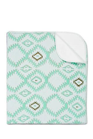 Bamboo Waterproof Change Mat:<br> Southwest, Mint</br>