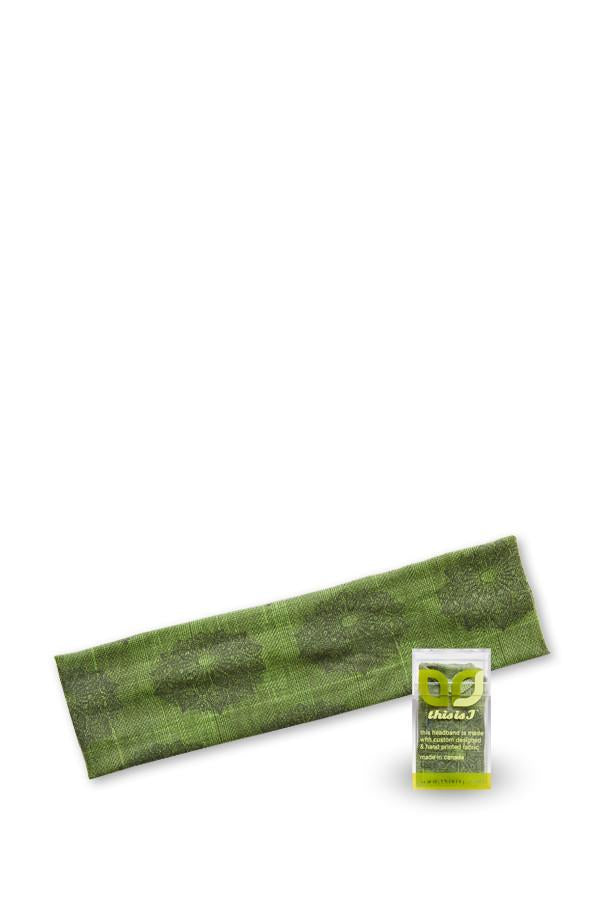 Classic Headband - Shell Lace, Grass - Made in Canada - This is J