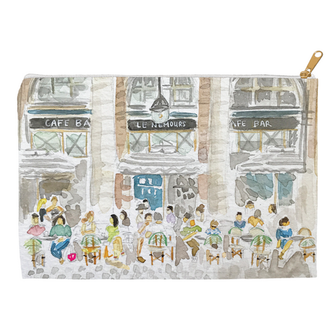 Paris Cafe Pouch