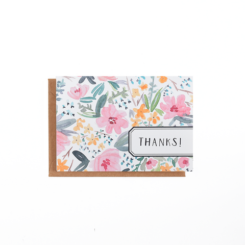 Spring Bouquet Floral Card