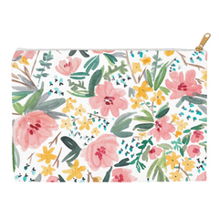 Spring Bouquet Pouch