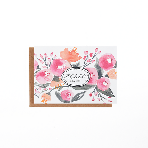 In Bloom Floral Card