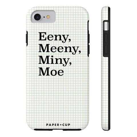 Green Eeny, Meeny Phone Case