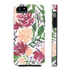 Mauve Floral Phone Case