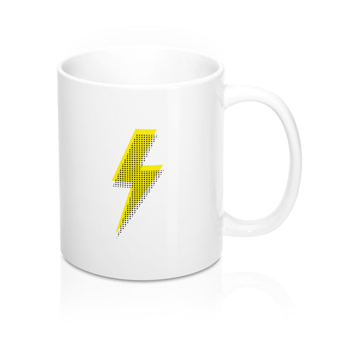 Yellow Bolt Mug