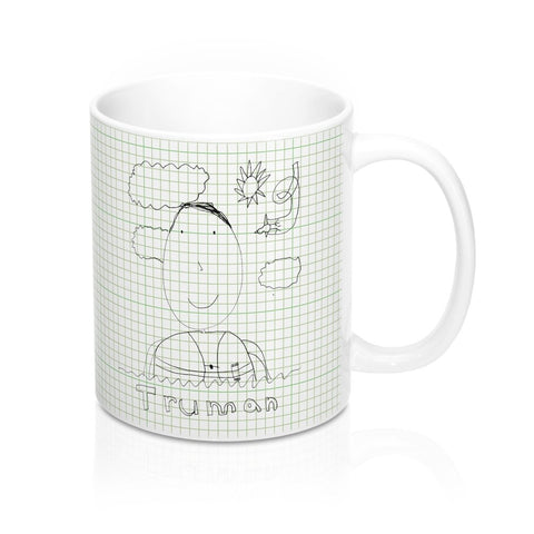 Green Graph Mug - your art
