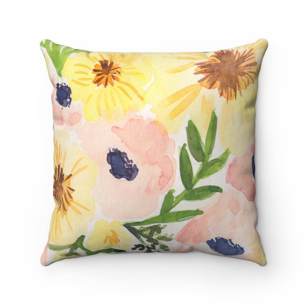 Les Bouqs Floral Pillow